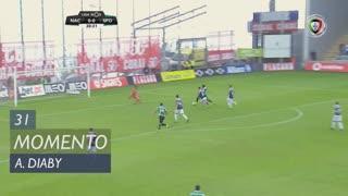 Sporting CP, Jogada, A. Diaby aos 31'