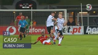 SL Benfica, Caso, Rúben Dias aos 25'