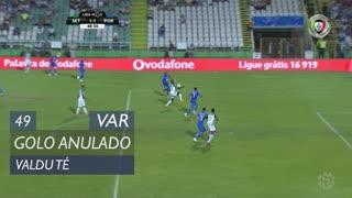 Vitória FC, Golo Anulado, Valdo aos 49'