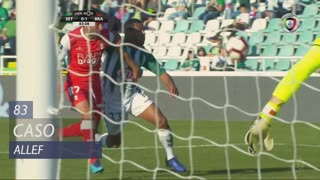 Vitória FC, Caso, Allef aos 83'
