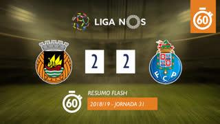 Liga NOS (31ªJ): Resumo Flash Rio Ave FC 2-2 FC Porto