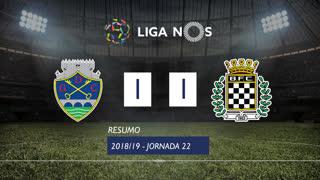 Liga NOS (22ªJ): Resumo GD Chaves 1-1 Boavista FC