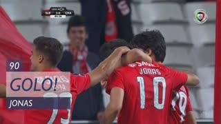 GOLO! SL Benfica, Jonas aos 90', SL Benfica 4-0 GD Chaves