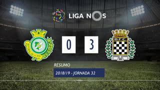 Liga NOS (32ªJ): Resumo Vitória FC 0-3 Boavista FC
