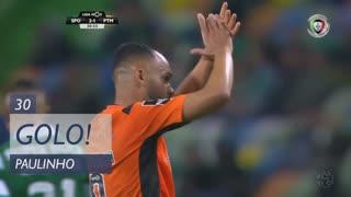 GOLO! Portimonense, Paulinho aos 30', Sporting CP 2-1 Portimonense
