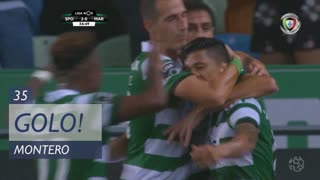 GOLO! Sporting CP, Montero aos 35', Sporting CP 2-0 Marítimo M.
