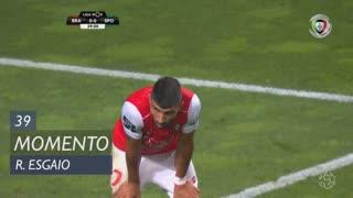 SC Braga, Jogada, Ricardo Esgaio aos 39'