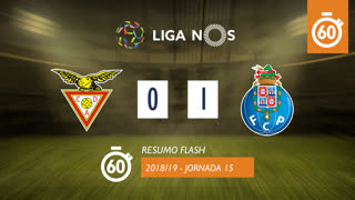 Liga NOS (15ªJ): Resumo Flash CD Aves 0-1 FC Porto