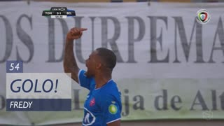 GOLO! Belenenses SAD, Fredy aos 54', CD Tondela 0-1 Belenenses SAD