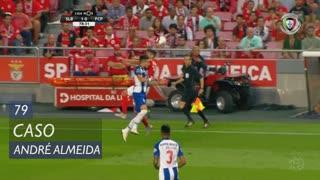 SL Benfica, Caso, André Almeida aos 79'