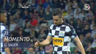 Boavista FC, Jogada, G. Sauer aos 32'