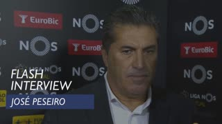 Liga (7ª): Flash interview José Peseiro
