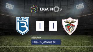 Liga NOS (28ªJ): Resumo Os Belenenses 1-1 Sta. Clara