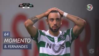 Sporting CP, Jogada, Bruno Fernandes aos 64'