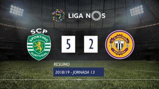 Liga NOS (13ªJ): Resumo Sporting CP 5-2 CD Nacional