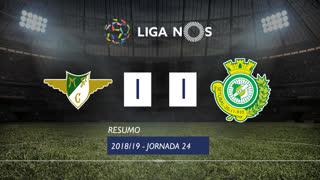 Liga NOS (24ªJ): Resumo Moreirense FC 1-1 Vitória FC