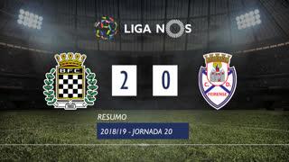 Liga NOS (20ªJ): Resumo Boavista FC 2-0 CD Feirense