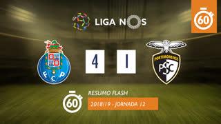 Liga NOS (12ªJ): Resumo Flash FC Porto 4-1 Portimonense