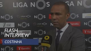 Liga (30ª): Flash Interview Costinha