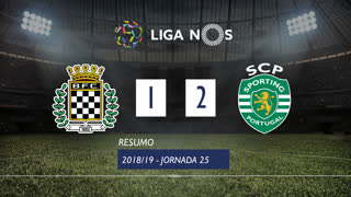 Liga NOS (25ªJ): Resumo Boavista FC 1-2 Sporting CP