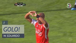 GOLO! SC Braga, Wilson Eduardo aos 1', SC Braga 1-0 CD Tondela