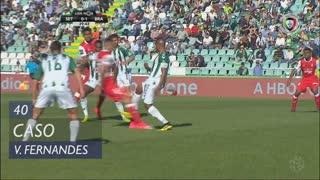 Vitória FC, Caso, Vasco Fernandes aos 40'
