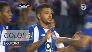 GOLO! FC Porto, J. Corona aos 18', FC Porto 1-0 CD Aves