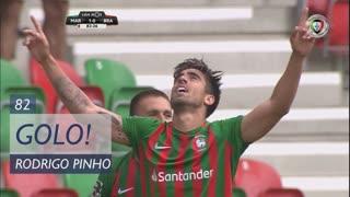 GOLO! Marítimo M., Rodrigo Pinho aos 82', Marítimo M. 1-0 SC Braga