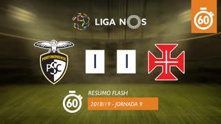 Liga NOS (9ªJ): Resumo Flash Portimonense 1-1 Belenenses