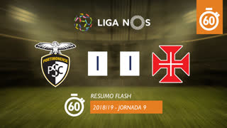 Liga NOS (9ªJ): Resumo Flash Portimonense 1-1 Belenenses SAD