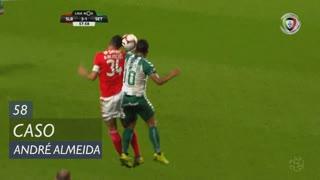 SL Benfica, Caso, André Almeida aos 58'