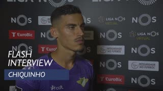Liga (4ª): Flash interview Chiquinho