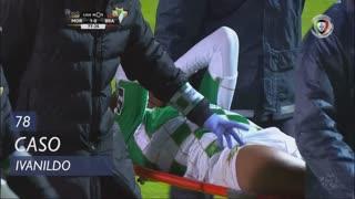 Moreirense FC, Caso, Ivanildo aos 78'