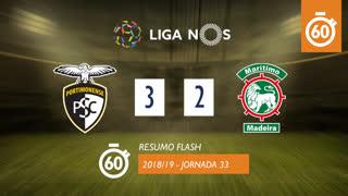 Liga NOS (33ªJ): Resumo Flash Portimonense 3-2 Marítimo M.