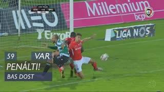 Sporting CP, Penálti, Bas Dost aos 59'