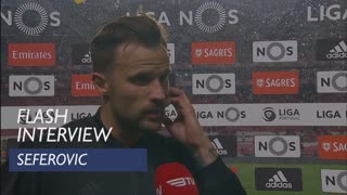 Liga (27ª): Flash Interview Seferovic