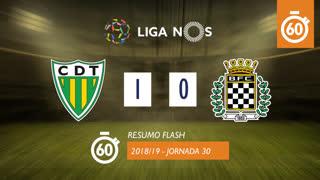 Liga NOS (30ªJ): Resumo Flash CD Tondela 1-0 Boavista FC