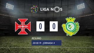 Liga NOS (4ªJ): Resumo Belenenses 0-0 Vitória FC