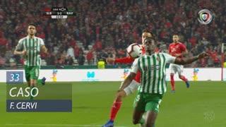 SL Benfica, Caso, F. Cervi aos 33'