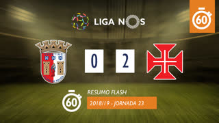 Liga NOS (23ªJ): Resumo Flash SC Braga 0-2 Belenenses SAD
