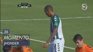Vitória FC, Jogada, Jhonder aos 36'