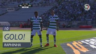 GOLO! Sporting CP, Raphinha aos 10', Os Belenenses 0-1 Sporting CP