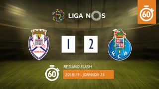 Liga NOS (25ªJ): Resumo Flash CD Feirense 1-2 FC Porto
