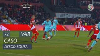 SC Braga, Caso, Dyego Sousa aos 72'