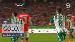 GOLO! Vitória FC, Nuno Valente aos 39', SL Benfica 2-1 Vitória FC
