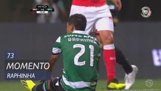 Sporting CP, Jogada, Raphinha aos 73'