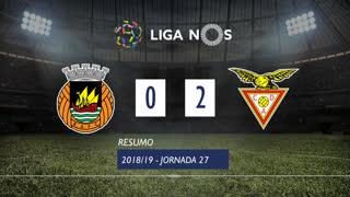 Liga NOS (27ªJ): Resumo Rio Ave FC 0-2 CD Aves