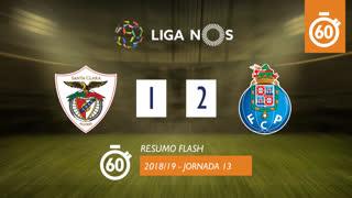 Liga NOS (13ªJ): Resumo Flash Santa Clara 1-2 FC Porto