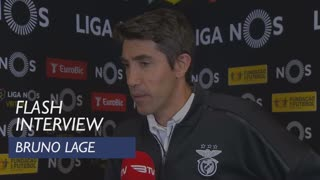 Liga (32ª): Flash Interview Bruno Lage