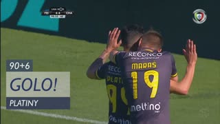 GOLO! GD Chaves, Platiny aos 90'+6', CD Feirense 4-4 GD Chaves